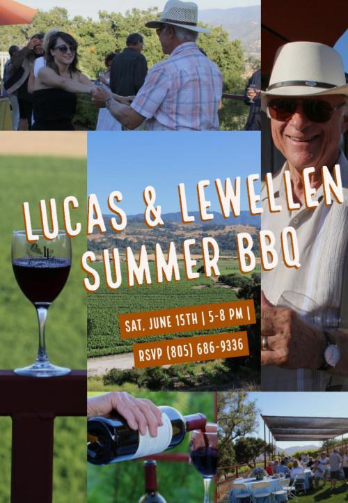 Summer BBQ at Lucas & Lewellen