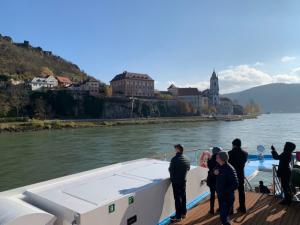 A Lucas & Lewellen Wine Cruise on the Danube with the Lucas & Lewellen Wine Club - photo by Fran Endicott Miller