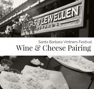 Vintners Festival Wine + Cheese Pairing