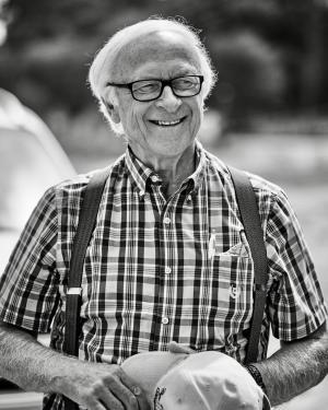 Photo of Louis Lucas smiling by Lance Batchelder